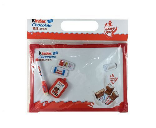 Kinder Surprise Magnetic Whiteboard Dry Wipe Pen Memo Drawing & Eraser Kids Gift