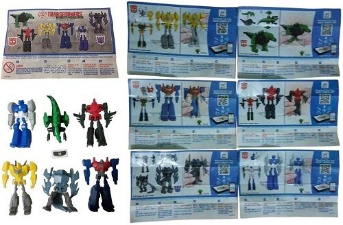 Kinder Surprise Transformers + 6 BPZ Limited Edition Boys Toys INDIA 2017 RARE