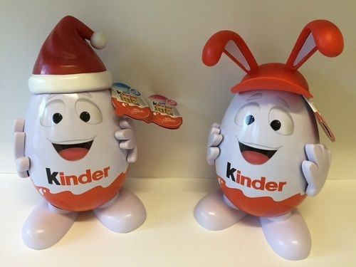 Kinderino Mascot Eggman Kinder Surprise Joys Limited Edition 2015/2016 ASIA Rare