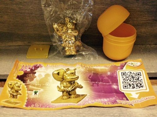 GOLD MARYLINCHEN Rare Kinder Surprise Figure Character 40 Years Anniversary NEW