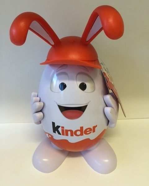 Kinderino Mascot Eggman Kinder Surprise Joy Limited Edition 2016 Philippine Rare