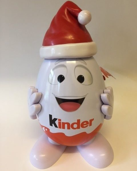 Kinderino Mascot Eggman Kinder Surprise Joys Limited Edition 2015 Malaysia Rare