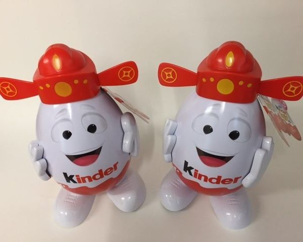 Kinderino Mascot Eggman Kinder Surprise Joys New Year Malaysia & Singapore RARE