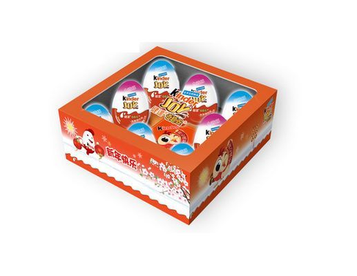 Kinder Joy Surprise Eggs In Gift Box Limited Edition Boys/Girls 2016 CHINA RARE