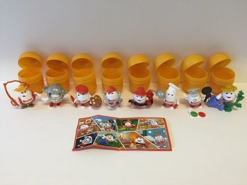 KINDERINO SPORT 3 Kinder Surprise Limited Edition Complete Set & 8 BPZ RARE 2016