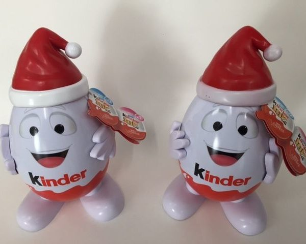Kinderino Mascot Eggman Kinder Surprise Joys 2015/2016 RARE Malaysia Philippines