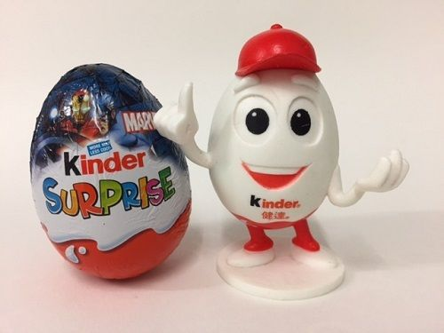 Kinder Surprise Kinderino Eggman Figure Mascot Limited Edition Gift 2016 RARE