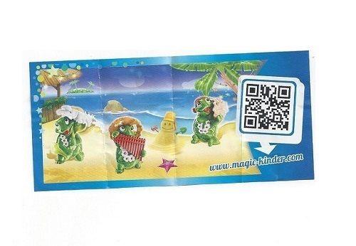Kinder Surprise TARTALLEGRE Limited Edition Complete Set Of 3 CHINA MEGA RARE