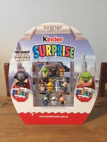 star wars kinder surprise diorama toys ltd edition australia rare only 200 made. Black Bedroom Furniture Sets. Home Design Ideas