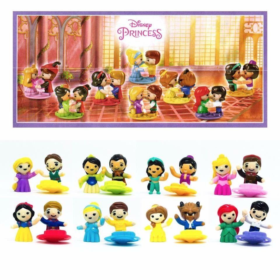Kinder Surprise Disney Princess Ltd Edition Full Set & 8 ...